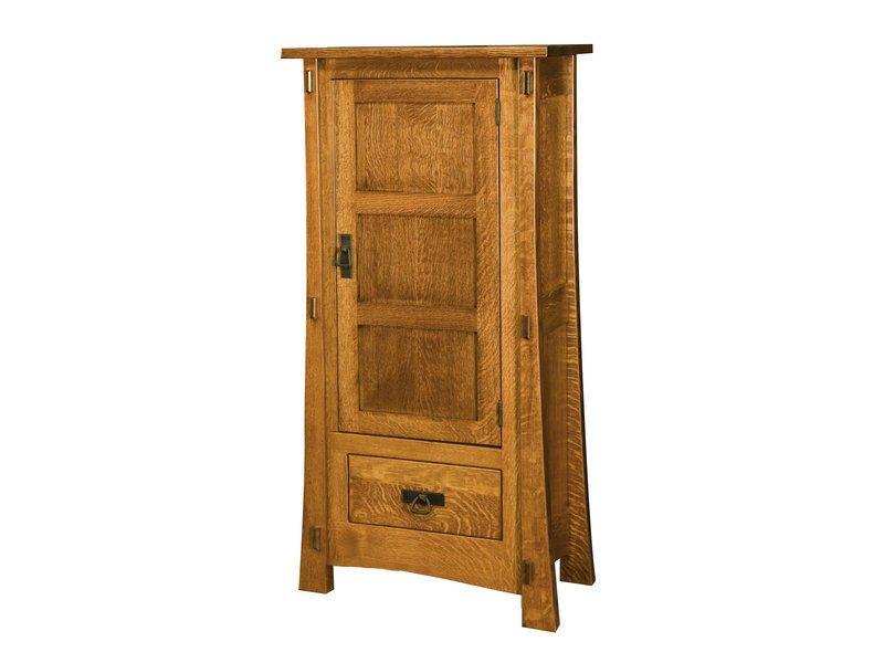 Modesto One Door Cabinet With Reverse Panels