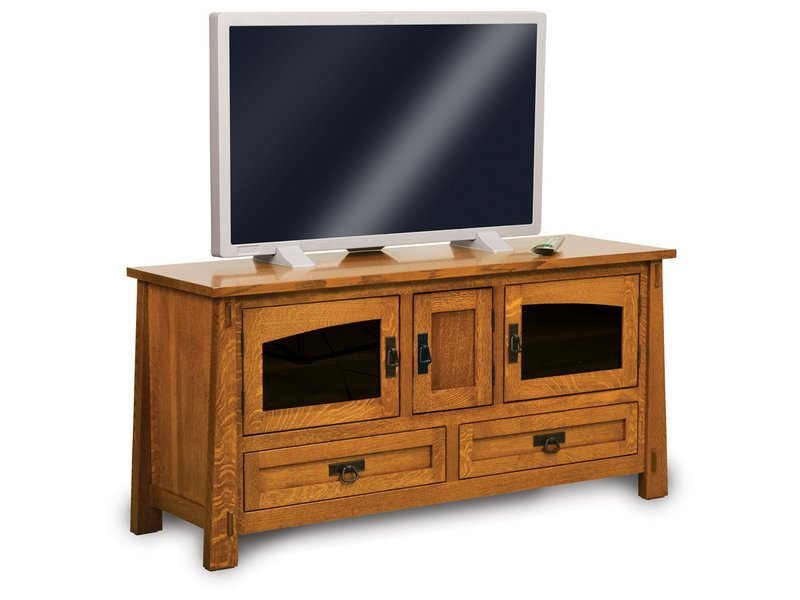 Modesto Three Door, Two Drawer LCD Stand