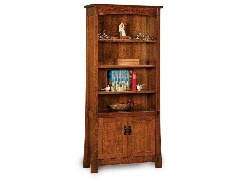 Modesto Two Door Bookcase