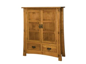 Modesto Two Door Cabinet with Reverse Panels
