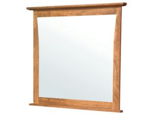 Mondovi Grey Elm Large Mirror