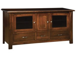 Mondovi Three Door, Three Drawers Plasma Stand