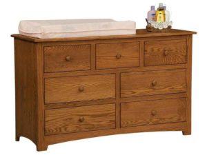 Monterey Seven Drawer Changer Dresser