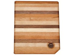 Narrow Striped Multi Wood Cutting Board