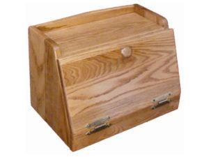 Oak Bread Box