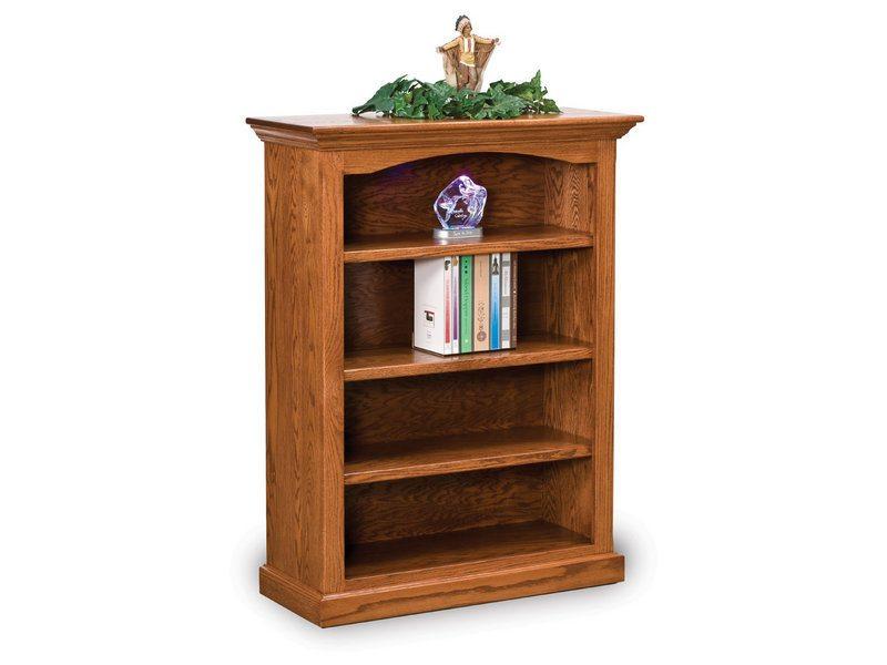 Oak Hoosier Heritage Three Shelf Bookcase