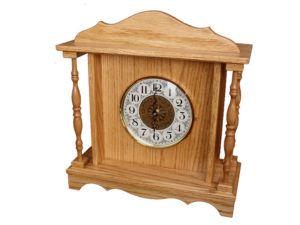 Oak Mantle Clock