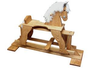 Oak Rocking Horse Glider