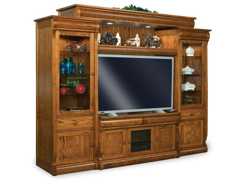 Old Classic Sleigh Five-Piece Wall Unit