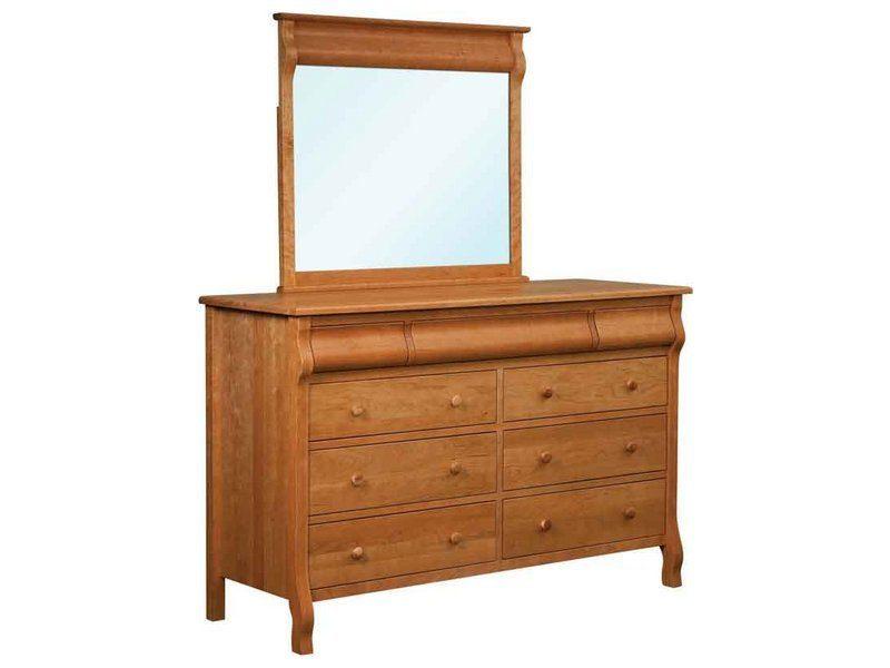 Pierre Nine Drawer Dresser with Mirror