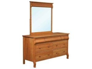Pierre Seven Drawer Dresser with Mirror