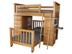 Pine Hollow Bunk Bed Unit