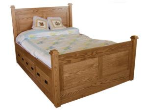 Pine Hollow Deluxe Storage Bed