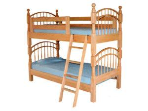 Pine Hollow Double Bow Bunk Bed