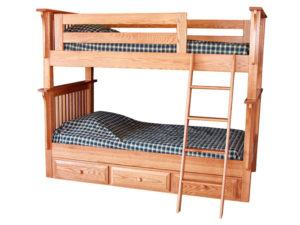 Pine Hollow Mission Bunk Bed