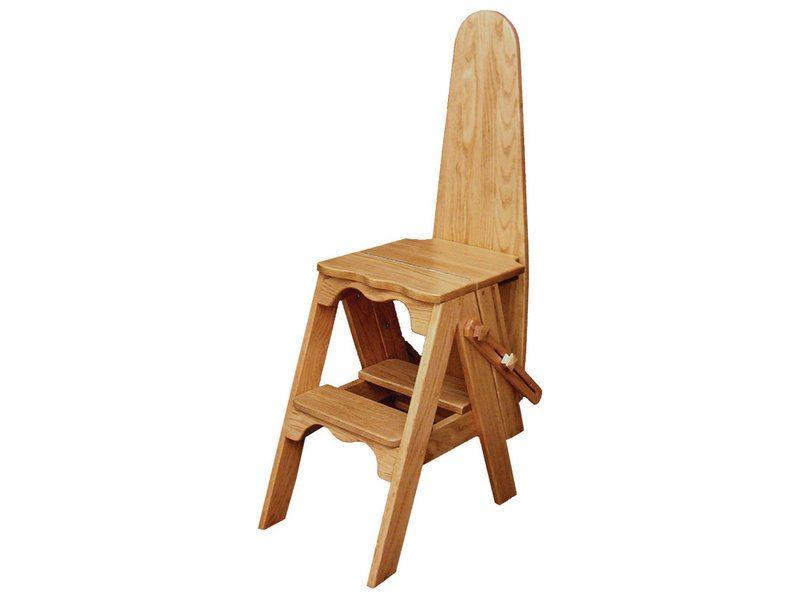 Amish-Made Wooden Ironing Board Natural Finish