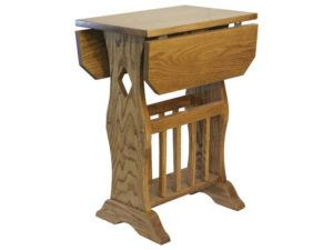 Magazine Drop Leaf Table