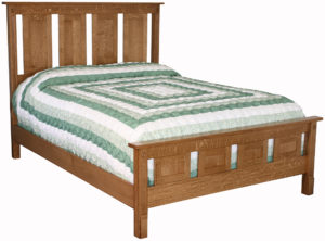 Remington Bed with Tall Headboard