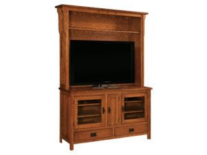 Royal Mission Hutch TV Stand