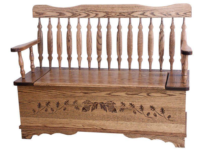 Royal Arrow Acorn Bench