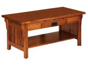 Straight Royal Mission Open Coffee Table