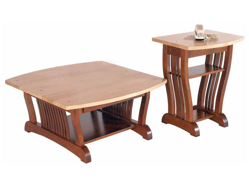 Amish Royal Mission Coffee Phone Tables Brandenberry Amish Furniture