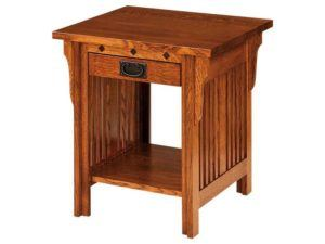 Straight Royal Mission Side Table