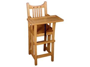 Royal Mission Oak Highchair with Slide Tray