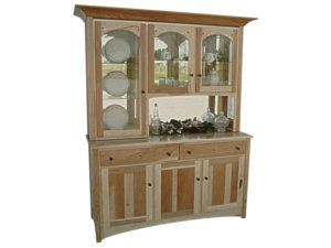 Royal Mission Three Door Hickory Hutch