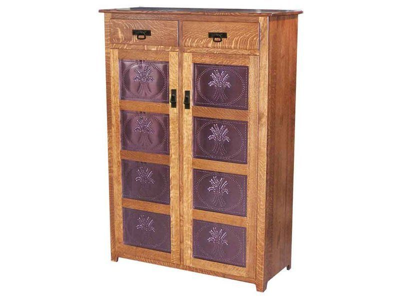 Royal Mission Two Door, Two Drawer Pie Safe