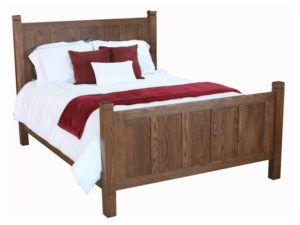 Shaker Oak Bed