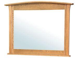 Shaker Wood Mirror