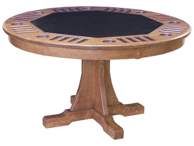 Signature Mission Poker Table