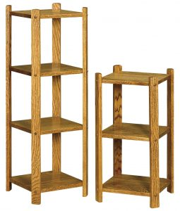 Small Square Three and Four Tier Stands