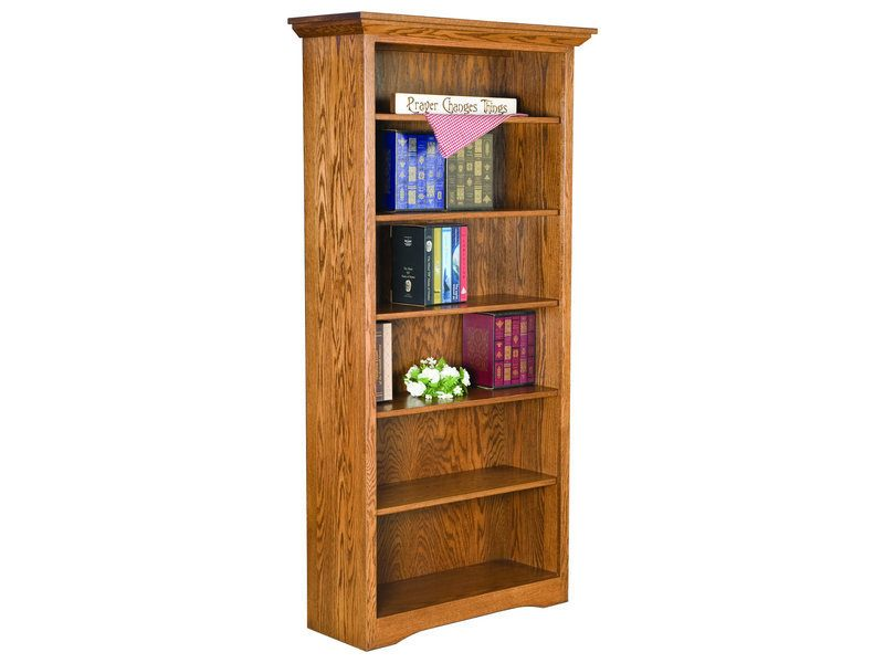 Solid Side Bookcase