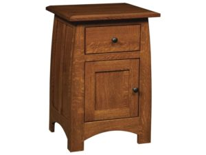 Superior Shaker One Drawer, One Door Nightstand