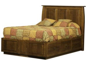 Superior Shaker Storage Bed