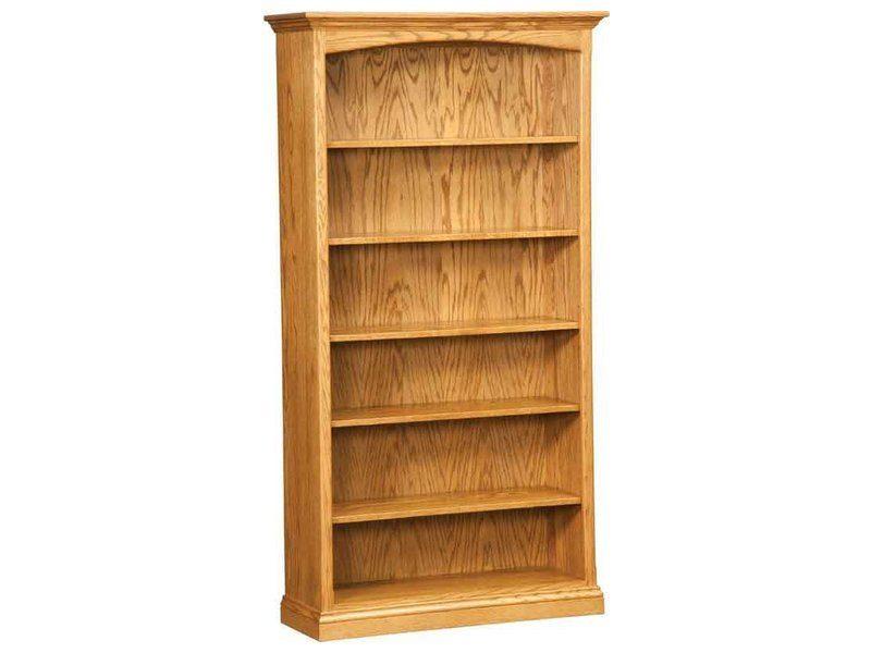six shelf bookcase