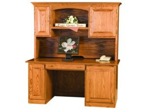 Traditional Style Desk and Hutch