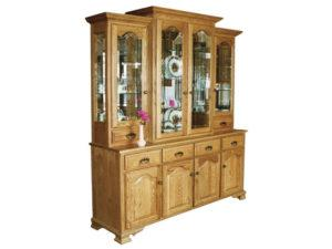 Vintage Eight Door Hutch