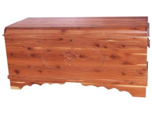 Waterfall Chest with Carving-3D Rose