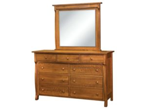 Wellington Dresser with Mirror