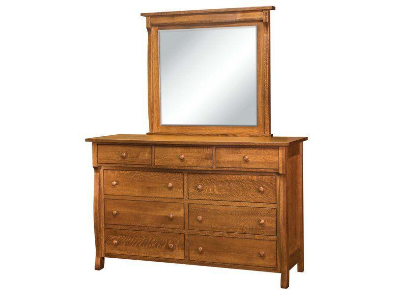 Wellington Dresser with Mirror