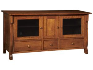 Wellington Three Door, Three Drawer Plasma Stand