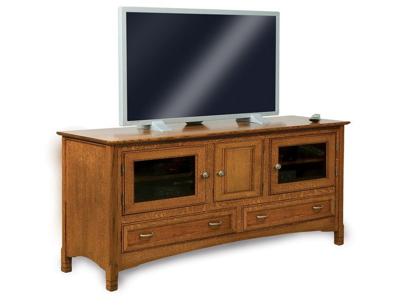 West Lake Three Door, Two Drawer LCD Stand