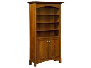 Westlake Bookcase with Doors