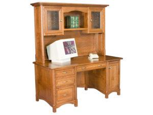 Westlake Straight Desk with Hutch