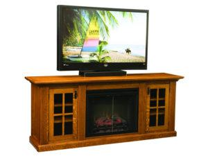 Weston Home Theater with Fireplace