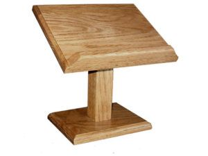 Wood Cookbook-Bible Stand