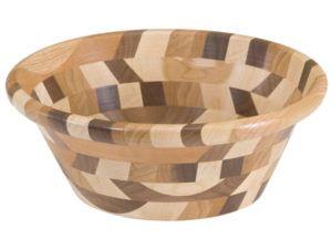 Wooden King's Dish Bowl (Mixed Wood)